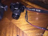 كاميرا كانون 550d و عدستين