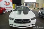 2012 دودج تشارجر RT 5.7L V8 لون ابيض للبيع