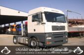 للبيع شاحنة مان شاصي 100680موديل2008