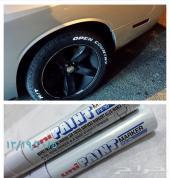 قلم ابيض  لكتابة على التايرللسيارات والدراجات