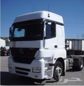 للبيع   شاحنة مرسيدس اكسور 1840 موديل  2007