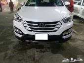 سياره هنداي سنتافي  اخو الجديد للبيع - الخبر