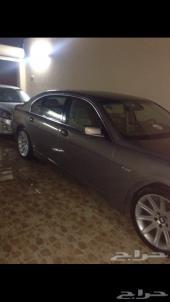 BMW موديل 2005 حجم 735 لارج ماشي 120 الف