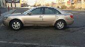 للبيع سياره سوناتااتومتك موديل 2008نظيف
