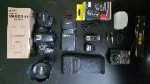 كاميرا Nikon إحترافيه بكامل الأغراض 1600ريال