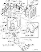 MITSUBISHI AIR FLOW SENSOR  MD336481  MD336501  MD336482