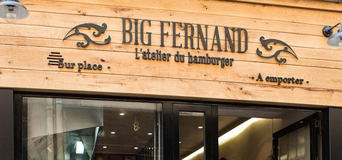 Big Fernand ... le roi du hamburgé