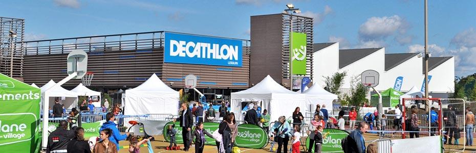 horaires magasins de sport Decathlon
