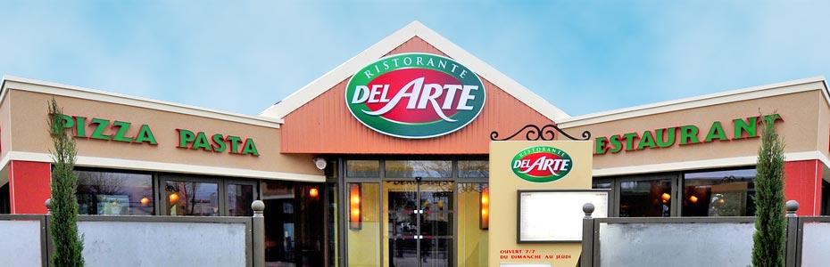 horaires restaurants Del Arte