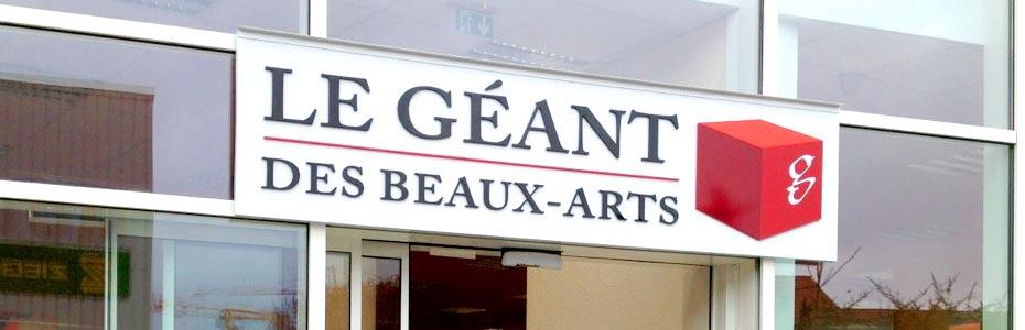 horaires magasins Le Géant des Beaux-Arts
