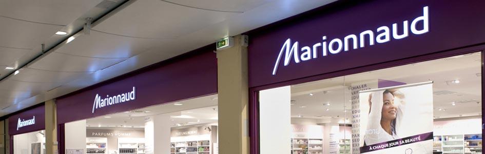 horaires boutiques Marionnaud