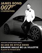 James Bond 007 l'Exposition