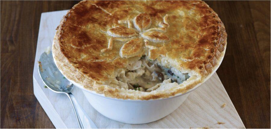 Chicken and Leek Pie: Pie Week