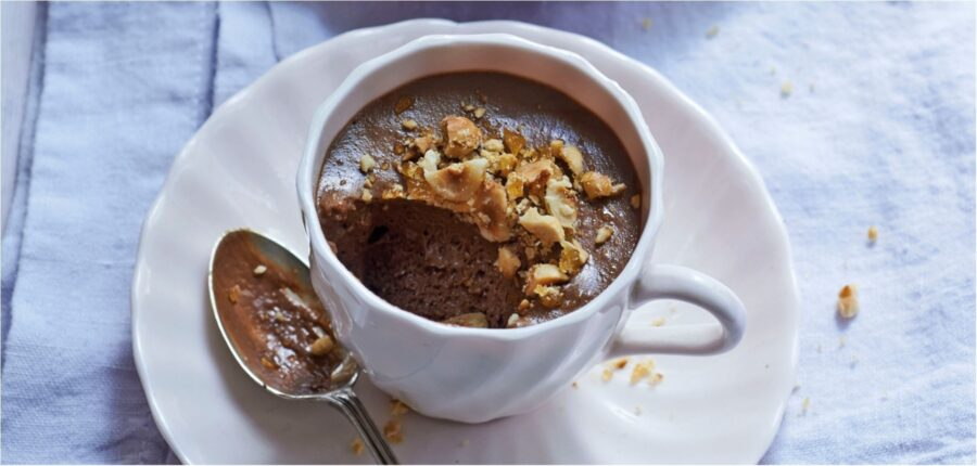 Chilled Chocolate and Hazelnut Soufflé