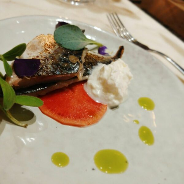 From the Fire: Flamed mackerel