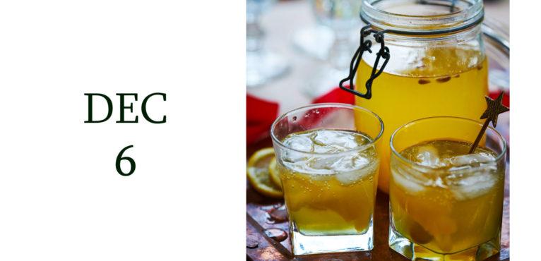 Leiths Advent - DEC 6 - Leiths Christmas Party Gin Fizz