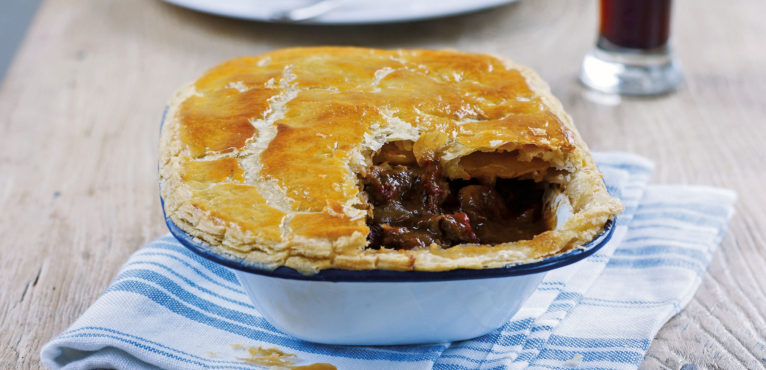 Steak and Ale Pie for St George's Day