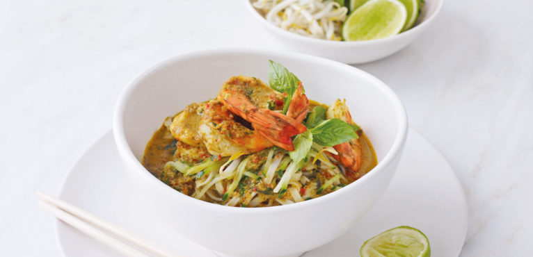 #LeithsLoves - Prawn laksa with Thai basil and lime