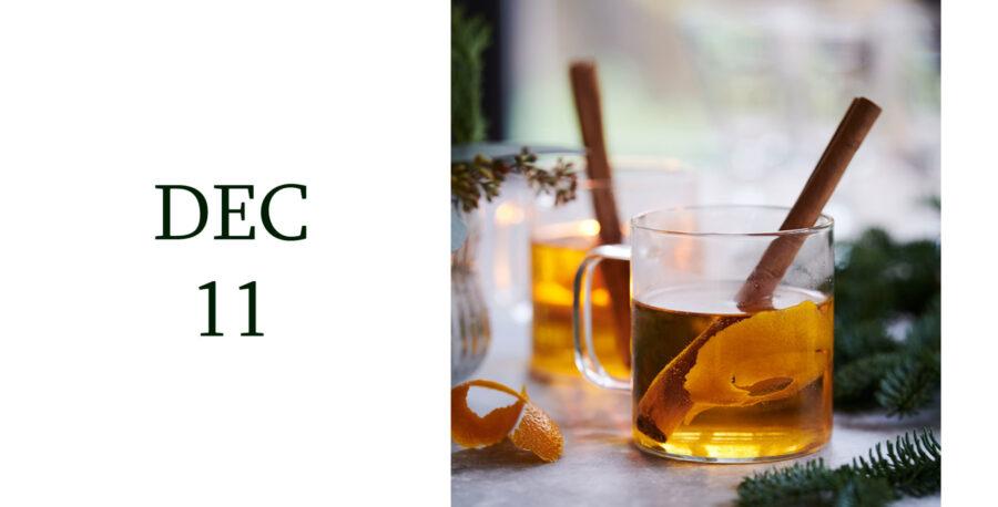 Leiths Advent - DEC 11 - Leiths Mulled Apple Juice