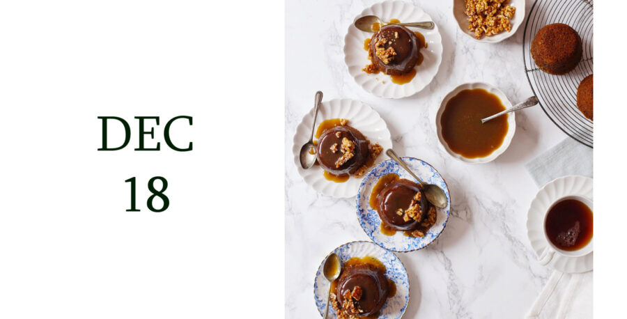 Leiths Advent - DEC 18 - Sticky Toffee Christmas Puddings with Edd Kimber