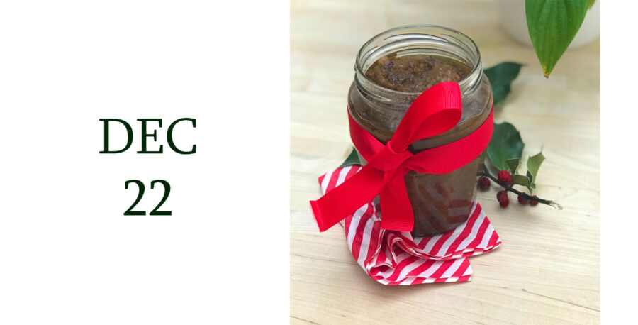 Leiths Advent - DEC 22 - Christmas Spiced Apple, Orange and Date Chutney