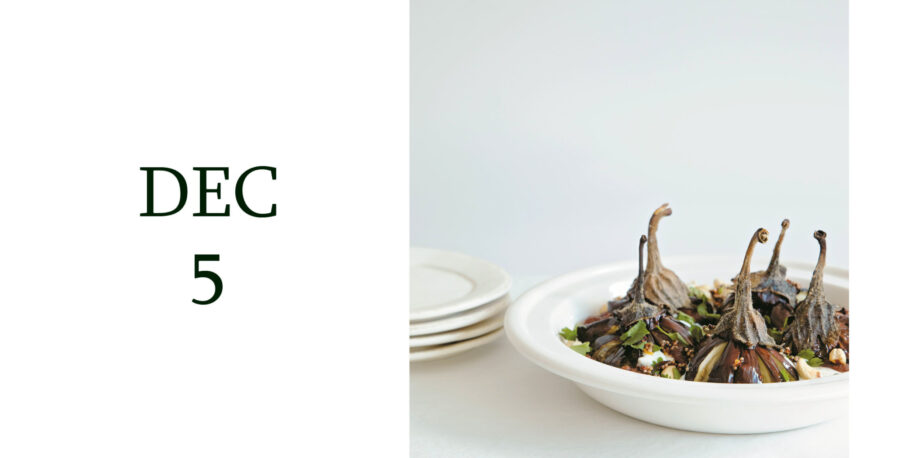Leiths Advent - DEC 5 - Vegetarian Winter Dish from Jenny Chandler