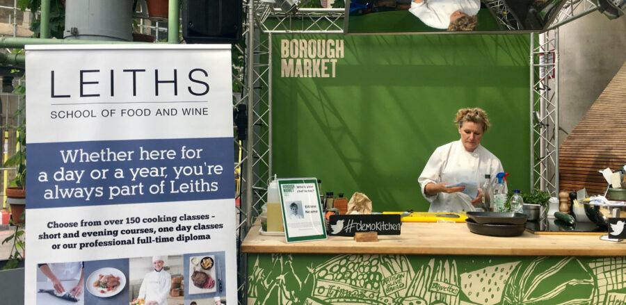 Leiths at Borough Market's Demo Kitchen