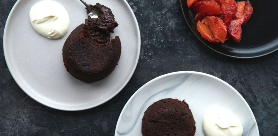 Valentine's Dessert: Chocolate Fondants