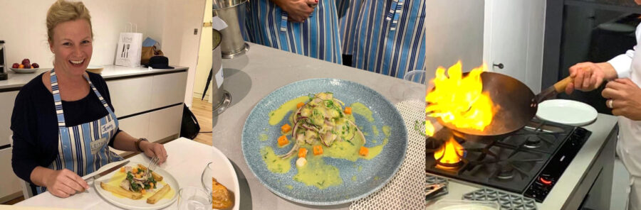 My Evening at Leiths - Peruvian cookery with Jorge Baumhauer Da Silva, by Jennifer Irvine