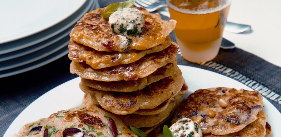Savoury American Pancakes for 4th July
