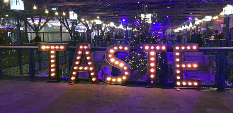 Taste of London: The Festive Edition 2017