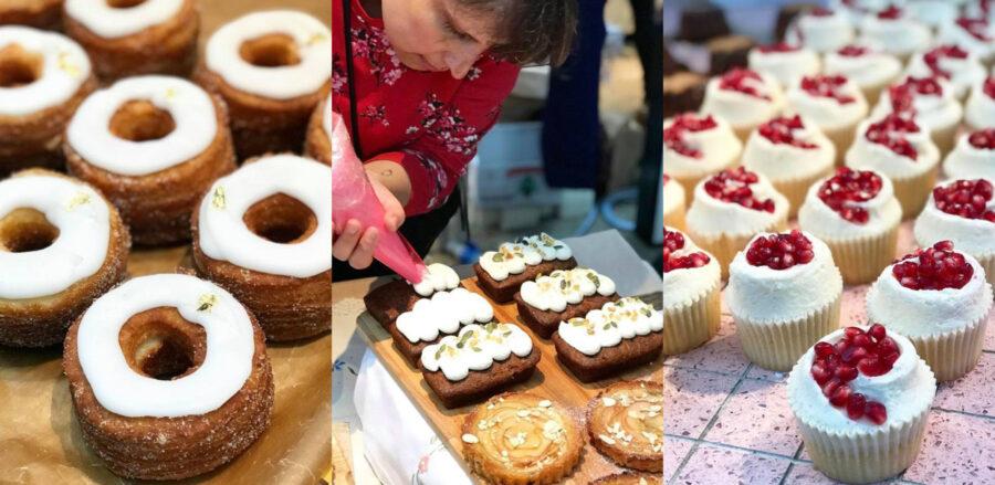 Bake 4 Syria at Spitalfields Market by Lauren Cartridge