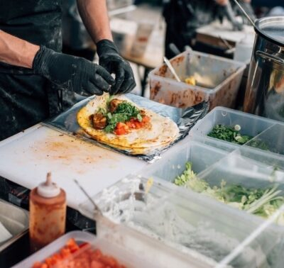 Let's Cook! Street Food for Teenagers