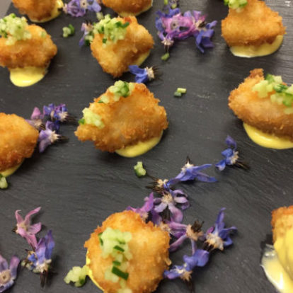 Canapés and wine pairings
