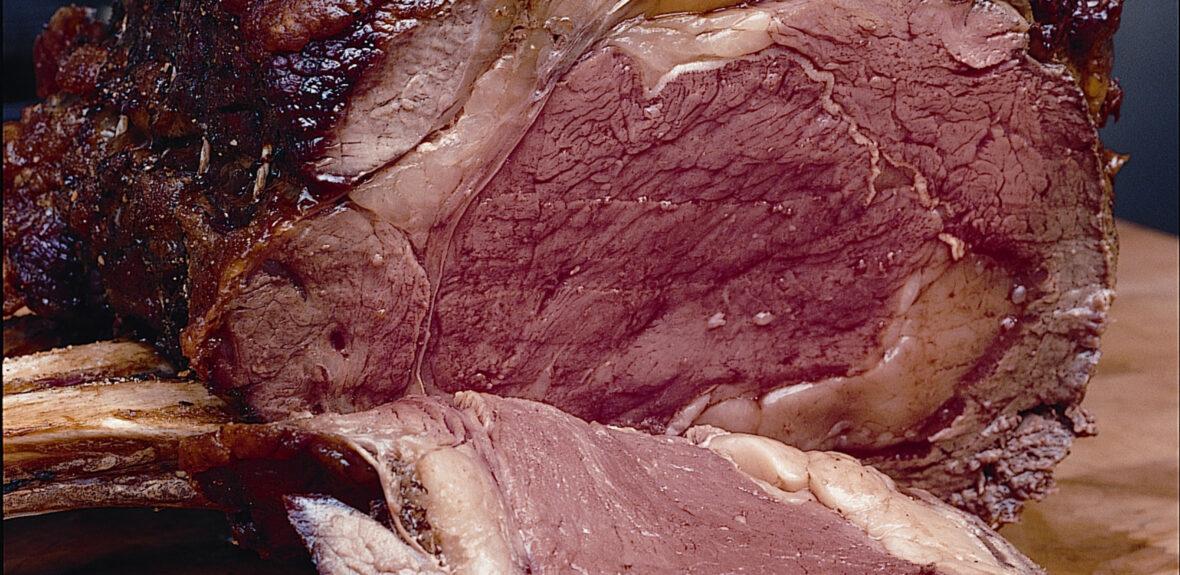 Cook roast beef
