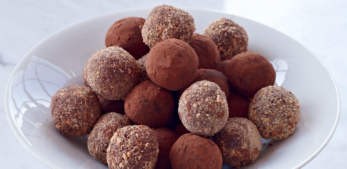 Make chocolate ganache