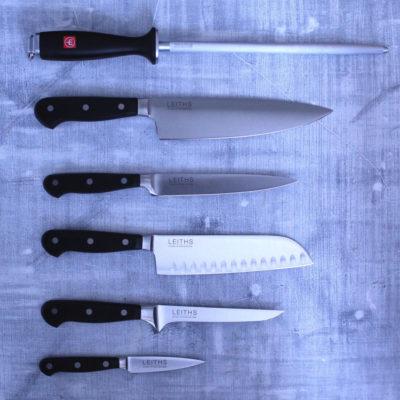 Leiths Wusthof Gourmet Knife Set