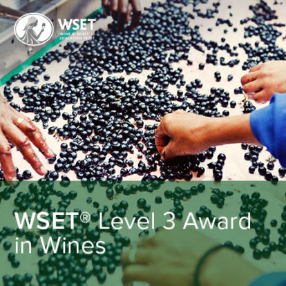WSET Level 3 Award in Wines & Spirits