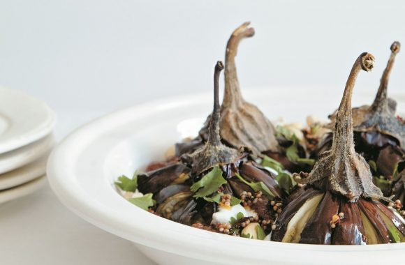 Jenny Chandler's Keralan aubergines with lentils, cashew and tamarind #LeithsTakeovers