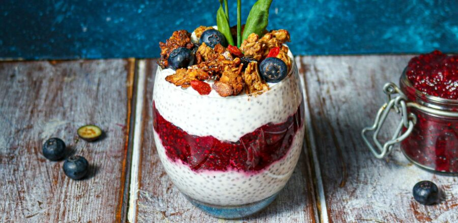 Gut-loving Probiotic Chia Pudding