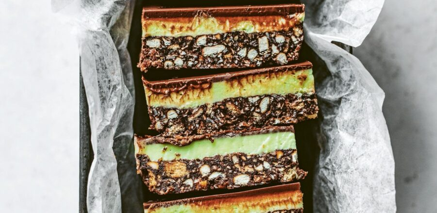 Edd Kimber's Peppermint Chocolate Slices