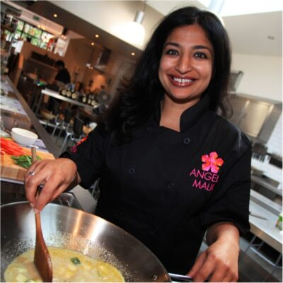 Indian Cookery with Angela Malik