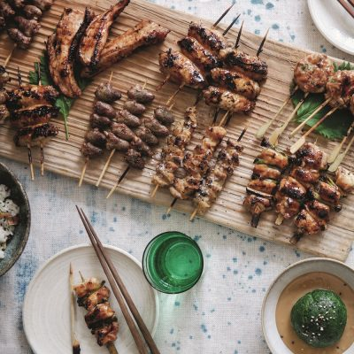 Japanese Robata grilling with Silla Bjerrum