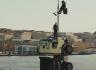 بالفيديو.. رئيس شركة فولفو يغامر بحياته لإثبات كفاءة شاحناته