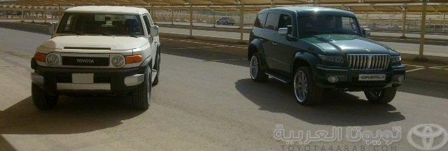 تدشين سيارات غزال الصناعه السعوديه