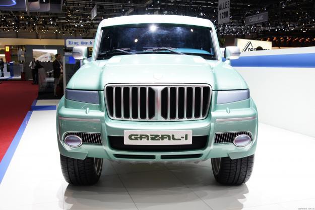 شاحنات ومعدات ثقيلة إنتاج سيارة غزال 1 السعودية