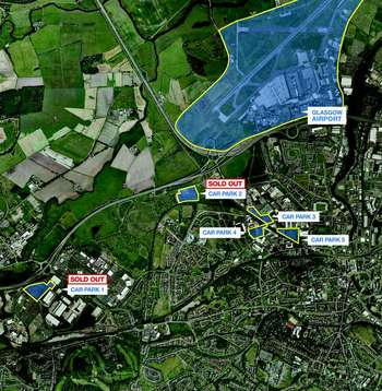 Commercial Property for sale in COMBINED investment Glasgow & Gatwick Airport