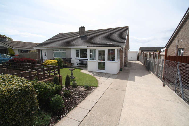 2 Bedrooms Semi Detached Bungalow for sale in Leyford Close, Wembury.