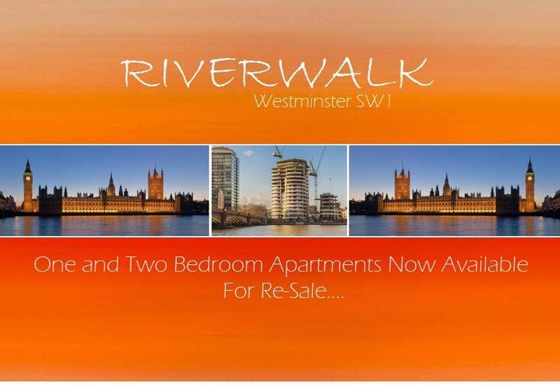 1 Bedroom Flat for sale in Riverwalk, 157-161 Millbank, Westminster