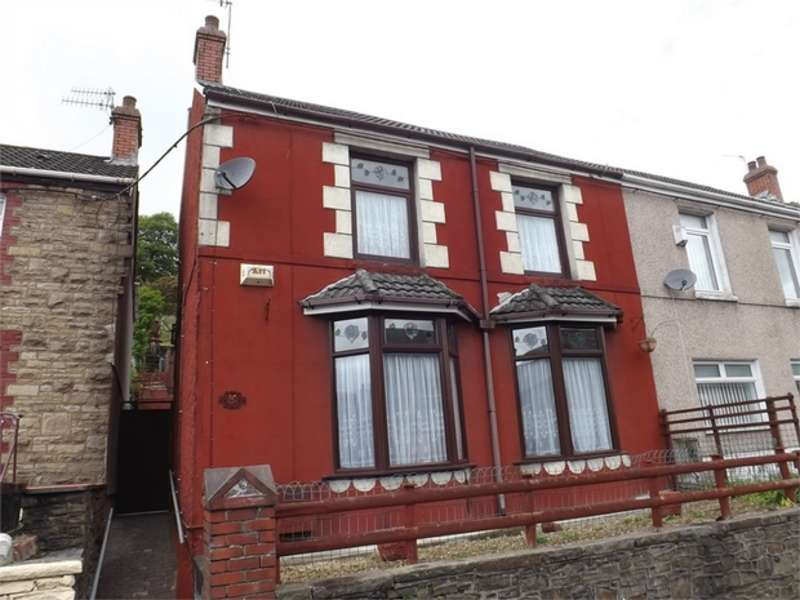 3 Bedrooms Semi Detached House for sale in Tonna Road, Maesteg, Mid Glamorgan